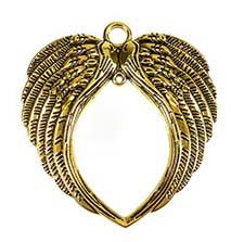 Vleugels groot - goud