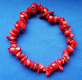 Split armband  smal - rood -  howliet