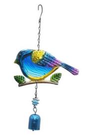 Vogel - blauw