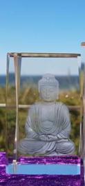 Boeddha breed laserblok