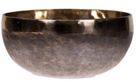 Klankschaal Ishana zwart/goud - 10cm