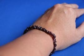 Split armband  - Granaat