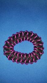 Ring armband roze
