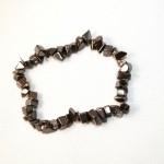 Split armband smal - Hematiet