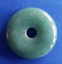 Aventurijn groen donut - 30mm