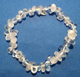 Split armband  - Bergkristal