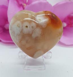 Flower agaat  hart