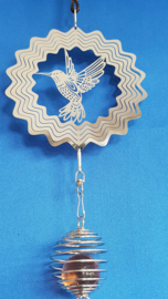 Kolibrie met kooitjes + pegel
