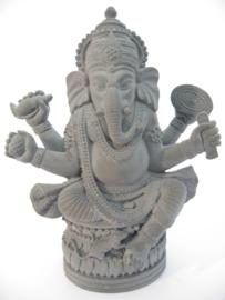 Ganesha grijs middel