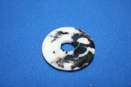 Jaspis Zebra donut - 30mm