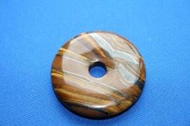 Tijgeroog donut - 30mm