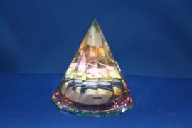 Pyramide Ying Yang rond - middel M
