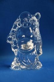Lachende boeddha met knapzak - klein