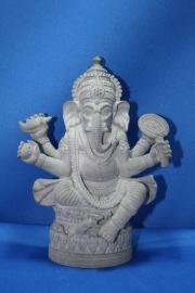 Ganesha grijs klein