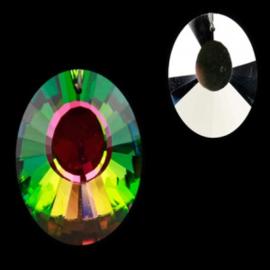 """Kristal raamhanger """"Panorama"""" - Multi ca. 3,7 x 5 cm *OP=OP*"""
