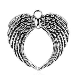 Vleugels groot - zilver