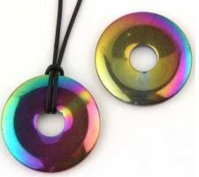 Regenboog Hematiet 30mm