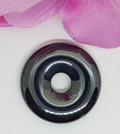 Hematiet donut - 30mm