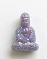 Boeddha acryl - Lila AB