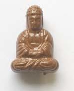 Boeddha acryl - Bruin