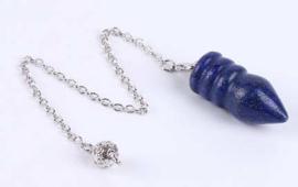 Lapis Lazuli pendel met ringen