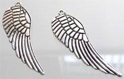 Vleugel groot - zilver