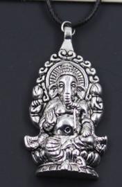 Ganesha hanger aan koordje