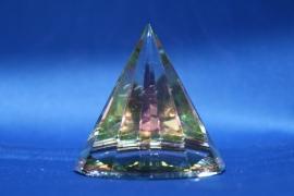 Pyramide kleur rond - klein M