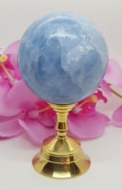 Calciet blauw bol - 54mm