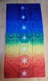 Kleed 7 chakra kleuren ster