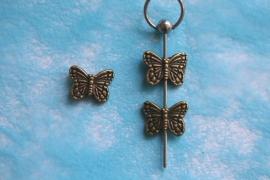 Vlinder bewerkt