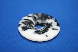 Jaspis Zebra donut - 40mm