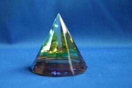 Pyramide kleur rond - klein L