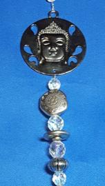 Boeddha  met grote cirkel