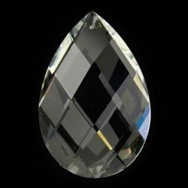 """Kristal raamhanger """"druppel"""" middel, ca. 5 bij 3,2cm"""
