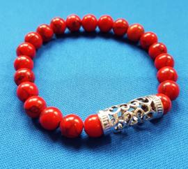 PB Howliet rood met kraal