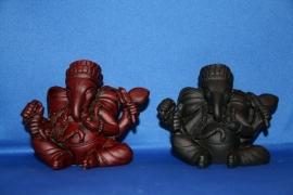 Ganesha klein donker rood