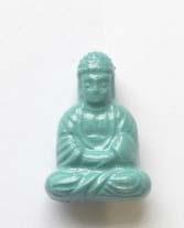 Boeddha acryl - Blauw
