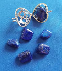 Lapis Lazuli knuffelsteen - klein