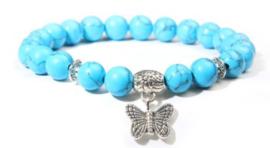 PB Howliet blauw vlinder - 17cm Small