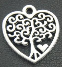 Hanger Levensboom hartje