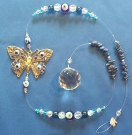 Vlinder beschermende oog raamhanger