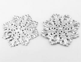 Filigraan tussenzetsel sneeuwvlok