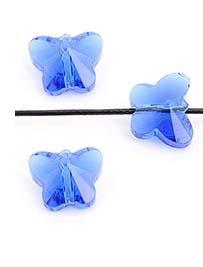 Vlinder - donker blauw