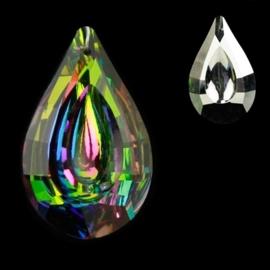 "Kristal raamhanger ""Bindi"" - Multicolor  3,2 x 5 cm"