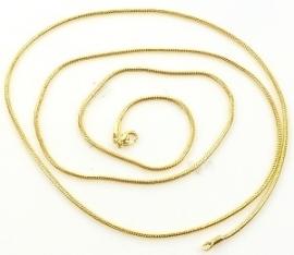 Metalen ketting goud 81cm/2mm