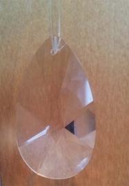 """Kristal raamhanger """"druppel"""" mini, ca. 3,5 bij 2cm"""