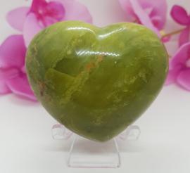 Opaal groen hart
