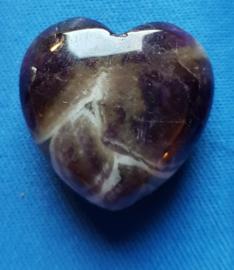 Amethyst kwarts hart