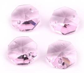 Octagon kraal - Roze